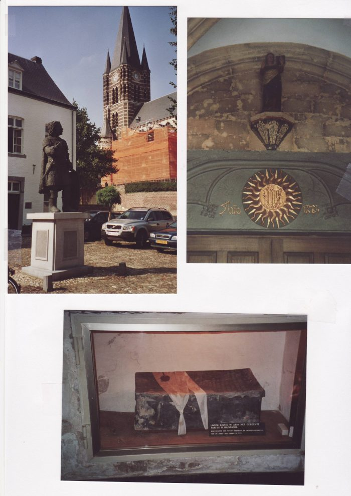 Statue Ansfrieds